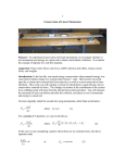 1 Conservation of Linear Momentum Purpose: To understand