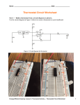 Thermostat Circuit Worksheet