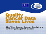 NPCR provides national leadership to Cancer Registries