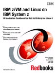 IBM z/VM and Linux on IBM System z Front cover