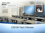 CIS100 Test Review