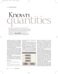 quantities Known