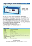 High Voltage Power Supply EHT-11