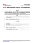 AN-806 Data Transmission Lines and Their Characteristics (Rev. A)