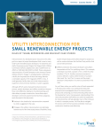 Utility Interconnection for Small Renewable Energy Projects—Rules