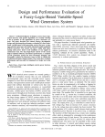 Design And Performance Evaluation Of A Fuzzy-logic