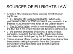 human rights in eu law- summer school cagliari