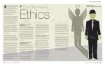 Ethics The only way is 