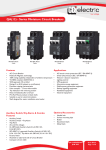 QA(13) - Series Miniature Circuit Breakers - CBI