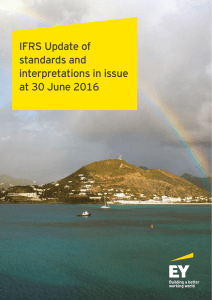 IFRS Update July 2016
