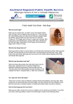 Bed Bugs - Auckland Regional Public Health Service