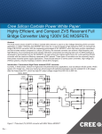 Highly Efficient, and Compact ZVS Resonant Full Bridge Converter