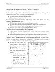 Chapter 10: Multi-‐Electron Atoms – Optical Excitations