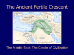 The Ancient Fertile Crescent