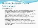 Pharmacy Technician*s Course. LaGuardia Community College