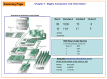 Digital Computers Chapter 1: