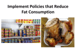 Community Sample Presentation | I10: Fat Consumption