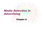 Media Selection in Advertising
