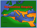Founding of the Byzantine Empire