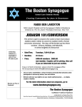 Conversion-Judaism 101