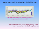 Humans and Preindustrial Climate