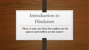 Introduction to Hinduism