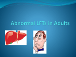 Abnormal LFTs in Adults