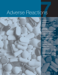 Adverse Reactions - Curry International Tuberculosis Center