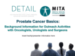 Prostate Cancer Basics