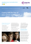 Coping with the fear of your cancer coming back