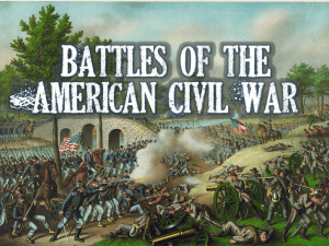 Union and Confederate forces fought many battles in the