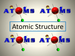 Atomic Structure - Physical Science