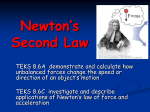 Newton`s Second Law