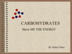 Unit 4 Carbohydrates PPT