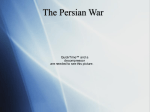 The Persian War - WorldHistoryatYHS
