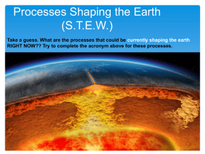 Physical Processes STEW