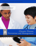 Chronic Disease Prevention and Management