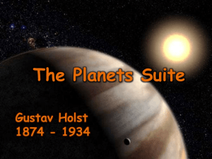 Gustav Holst and The Planets - Handford Hall Primary School