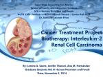 Cancer Treatment Project: Biotherapy: Interleukin
