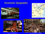 Economic Geography - El Camino College
