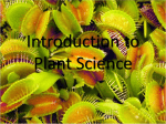 Intro to Horticulture