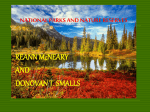 NAIONAL PARKS AND NATURE RESERVES