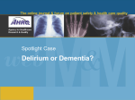 Dellirium or Dementia case accessory file