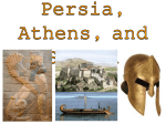Sparta, Athens, and Persia