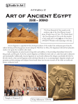 Art History Art of Ancient Egypt