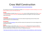Cross Wall Construction