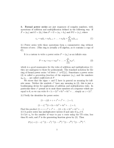 3. Formal power series are just sequences of