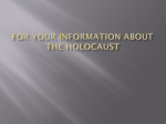 Camp Auschwitz-Birkenaci Information Guide