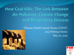 How Coal Kills: The Link Between Air Pollution, Climate Change