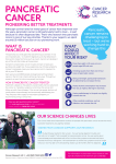 PANCREATIC CANCER - Cancer Research UK